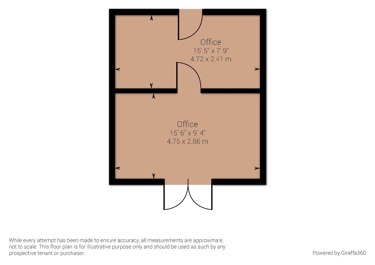 Outbuilding office space